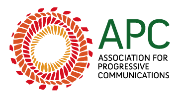 Association for Progressive Communications logo concentric abstract colored circles