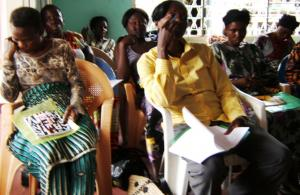 Survivors of violence (Congo) undergo training and counselling