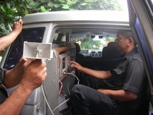 "Figure 3: The ""spectrum Police"" at work in Jakarta"
