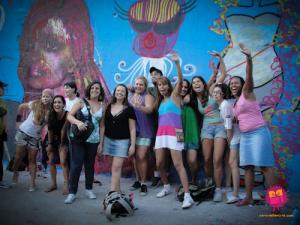 Photo credit: Rede Nami: Rede Nami, a feminist network in Brazil, uses street art and ICTs to fight VAW