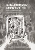 GISWatch 2012 cover