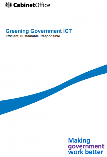 Greening Government ICT: Efficient, Sustainable, Responsible