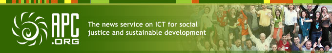APC.org - The news service on ICT for social justice and sustainable development