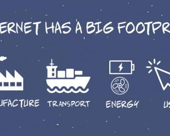 Webcomic: The internet's footprint