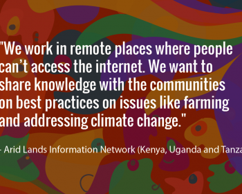 Seeding change: Arid Lands Information Network on using ICTs to achieve food security in East Africa