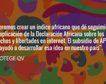 Sembrando cambios: PROTEGE QV, de Camerún, sobre cómo ampliar el esfuerzo por los derechos digitales hacia todo el continente