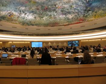 Letter to Member States of the UN Human Rights Council, regarding resolution on the protection of human rights defenders addressing economic, social and cultural rights