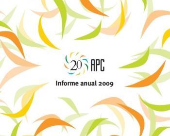 Informe anual de APC 2009