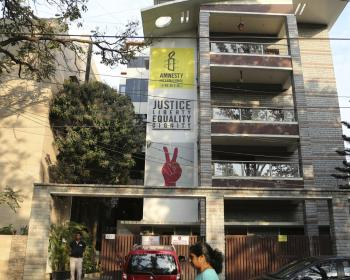 India: Amnesty International forced to halt work
