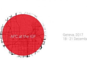 APC at the IGF 2017: Event coverage