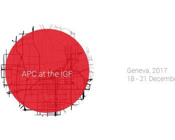 APC members at the IGF 2017
