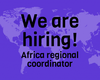 Job call: Africa regional coordinator – Connecting the unconnected