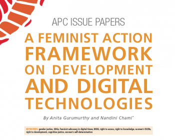 A feminist action framework on development and digital technologies