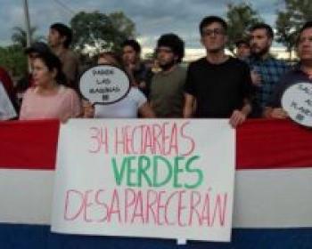 APC members in 2017: Protecting Guasu Metropolitan park in Paraguay with the help of social media