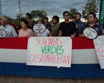 Membres d'APC en 2017 : Les médias sociaux contribuent à la protection du parc urbain Guasu au Paraguay