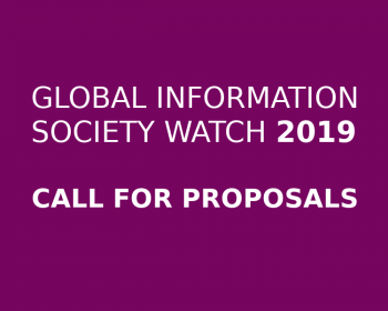 GISWatch 2019 call for proposals: Artificial intelligence: Human rights, social justice and development