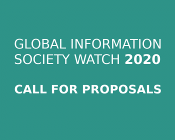 Extended deadline! GISWatch 2020 call for proposals: Technology,  the environment and a sustainable world: Responses from the global South