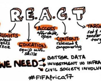 Miembros de APC en 2017: Foro sobre libertad en internet en África. Una presencia creciente