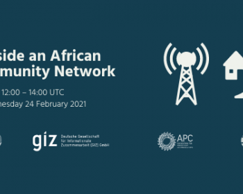 Virtual Summit on Community Networks in Africa: Inside an African community network