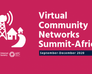Reimagining the Africa Community Networks Summit during the COVID-19 pandemic