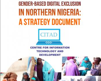 Surmonter l'exclusion numérique fondée sur le sexe dans le nord du Nigéria: document stratégique