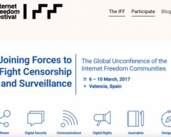 APC at the Internet Freedom Festival 2017
