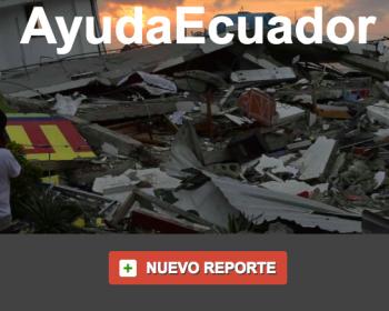 """Valeria Betancourt, sobre Mapa Desastre Ecuador: """"El número de voluntarios sigue creciendo cada día"""""""