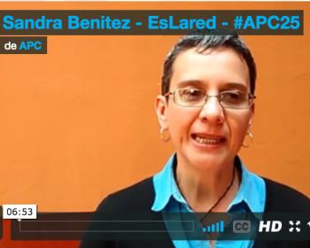 """Sandra Benitez de EsLaRed: """"APC es una vitrina para que se conozcan nuestros proyectos"""""""