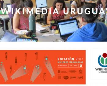 Wikimedia Uruguay: editatón en el mes de las mujeres