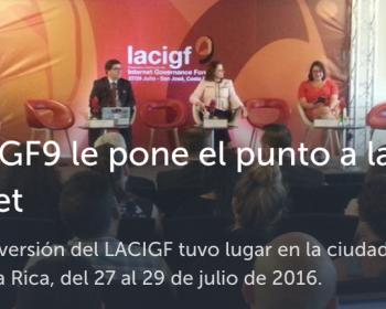 #LACIGF9 le pone el punto a la i de internet