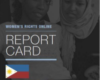 Measuring women's rights online in the Philippines