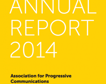 Informe anual de APC 2014