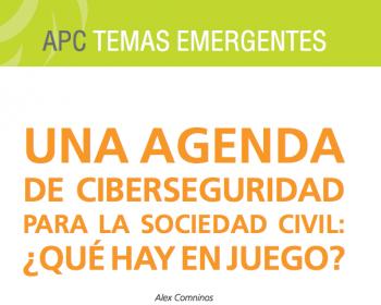 Una agenda de ciberseguridad para la sociedad civil: ¿qué hay en juego?