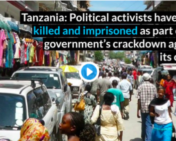 Tanzania: Civil society groups express concern over rapid decline in human rights