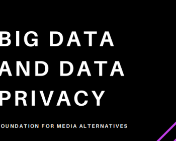 Big data and data privacy in the Philippines