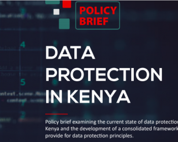 KICTANet: State of data protection in Kenya