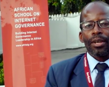 AfriSIG 2018: How can multistakeholder processes be improved? Interview with James Mutandwa Madya
