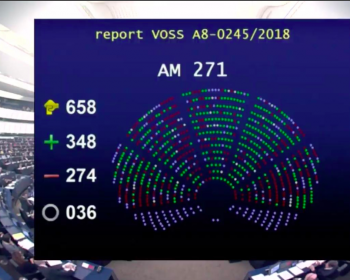"""Users across the globe may well see a rise in automated censorship and filtering thanks to the European Parliament"""