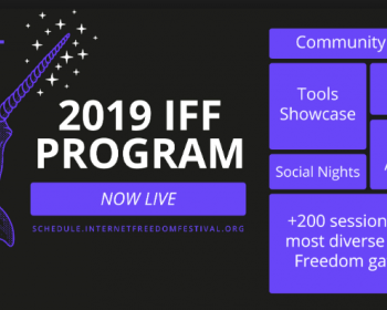 APC at the Internet Freedom Festival 2019