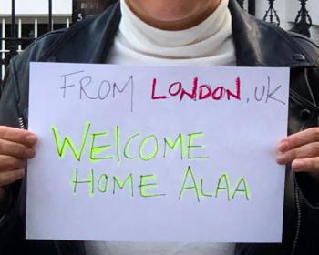 Bienvenido a casa, Alaa: liberan al activista egipcio Alaa Abd El Fattah tras cinco años de prisión