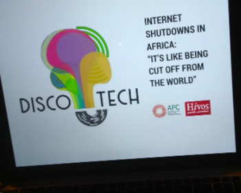 When the government shuts down the internet: Disco-tech event in Tunis
