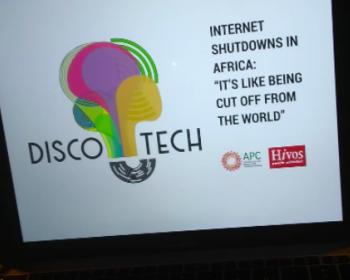 When the government shuts down the internet: Disco-tech event in Tunis