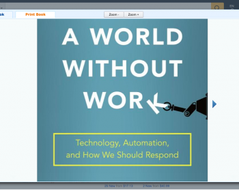 Inside the Digital Society: A world without work?