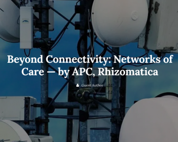 Beyond Connectivity: Networks of Care