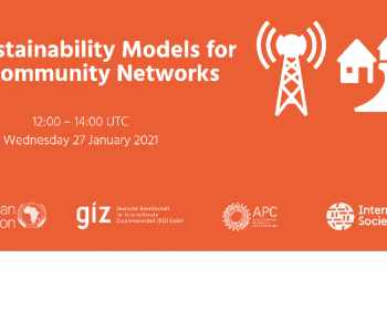 Virtual Summit on Community Networks in Africa: Discussion on sustainable models
