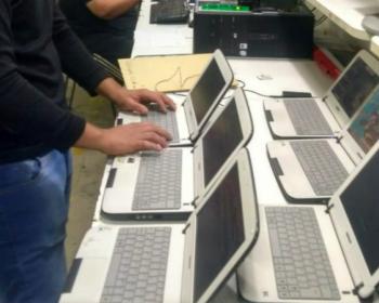 Igualdad y educación virtual: Nodo TAU recupera y repara equipos informáticos en Argentina