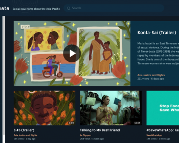 New Asia-Pacific video platform highlights social and environmental films