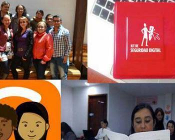 Membres d'APC en 2017 : Colnodo renforce les compétences et la sécurité dans le numérique en Colombie
