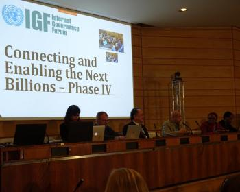 "Connecting the next billions at IGF 2018: ""Let's think in terms of social development and not profit alone"""
