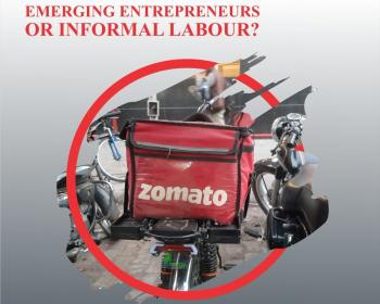 Food delivery workers in India: Emerging entrepreneurs or informal labour?